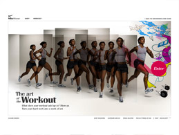 NikeWomen: Art of the Workout
